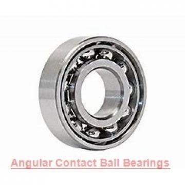 80 mm x 170 mm x 39 mm  NSK QJ316 angular contact ball bearings