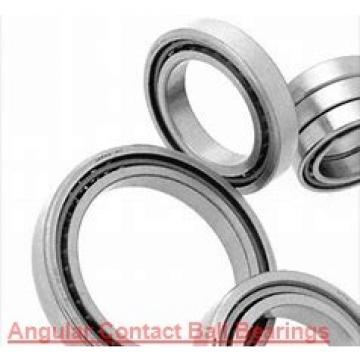 90 mm x 190 mm x 43 mm  NTN QJ318 angular contact ball bearings